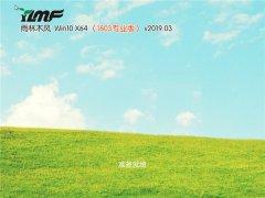 雨木风林 Win10 x64专业版 v2019.03