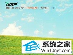 雨木风林 Win10 x64(1809专业版)v2019.05